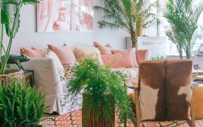 GET THE LOOK: BOHO TROPICAL LIVING SPACE